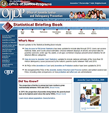 Statistical Briefing Book web site